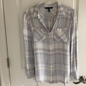 WHBM button up shirt